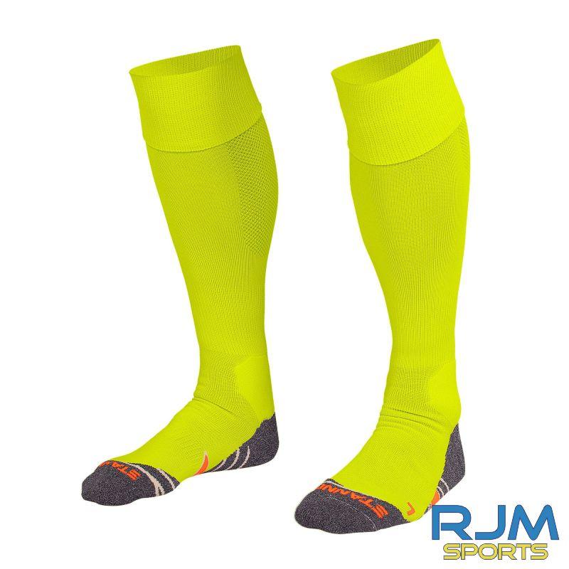 Dunipace FC Stanno Uni II GK Socks Neon Yellow
