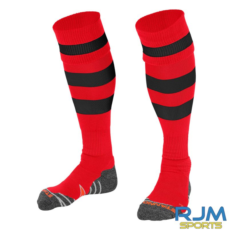 Dunipace FC Stanno Original Away Socks Red Black