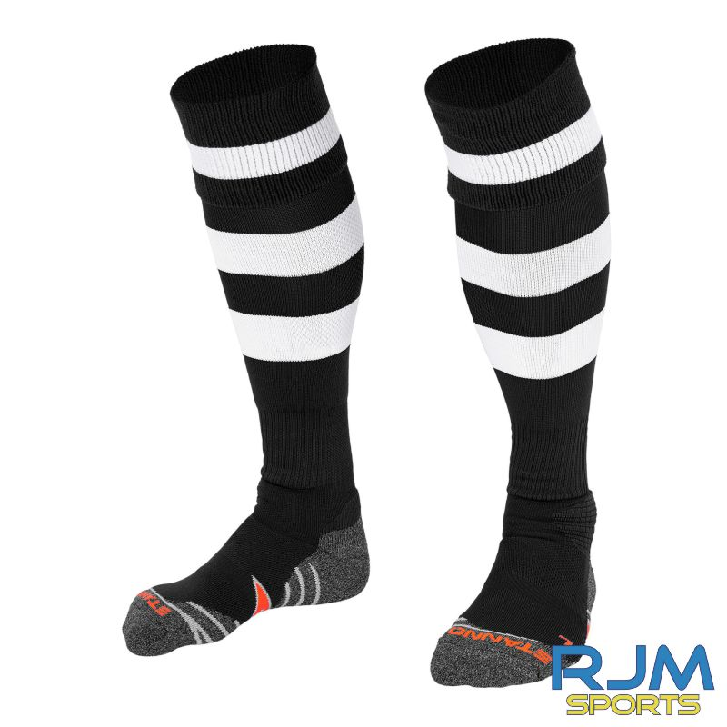 Dunipace FC Stanno Original Home Socks Black White