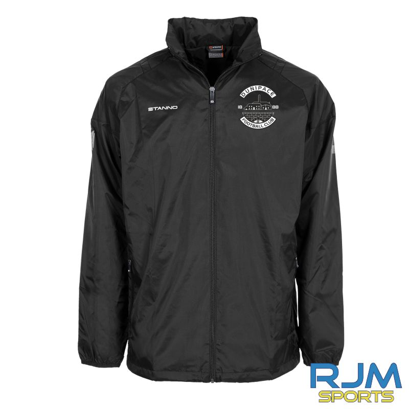 Dunipace FC Stanno Centro All Weather Jacket Black