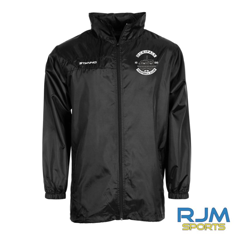 Dunipace FC Stanno Field All Weather Jacket Black
