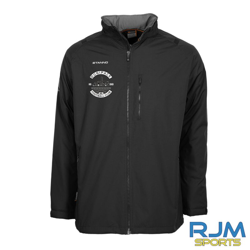 Dunipace FC Stanno Centro All Season Jacket Black