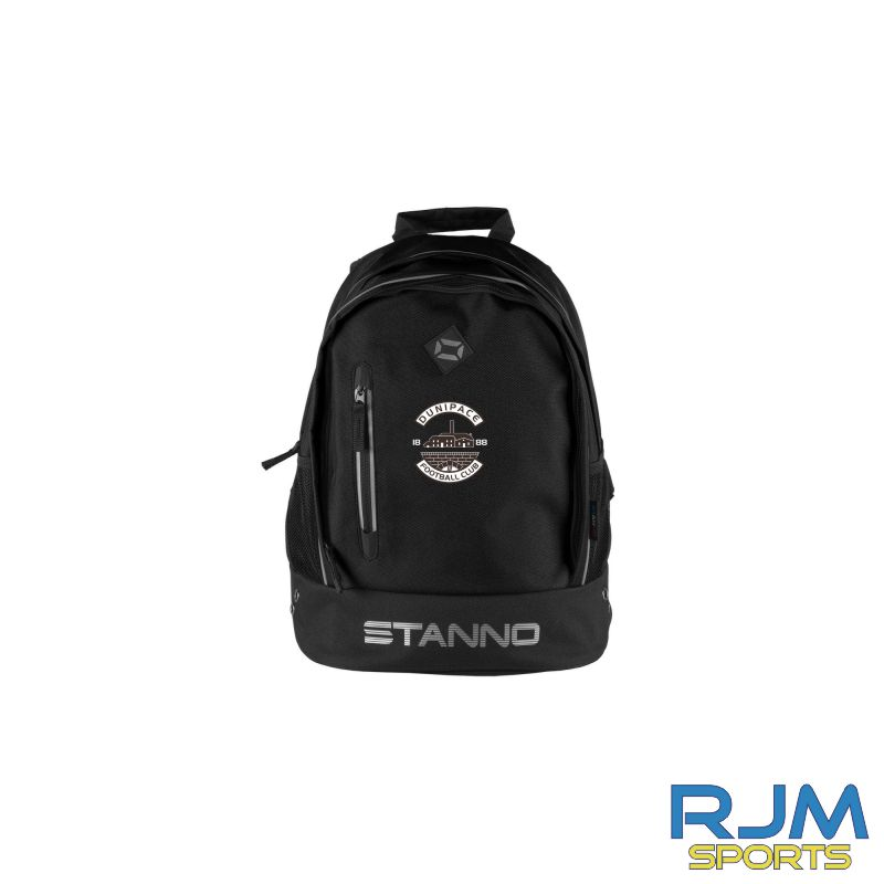 Dunipace FC Stanno Backpack Black