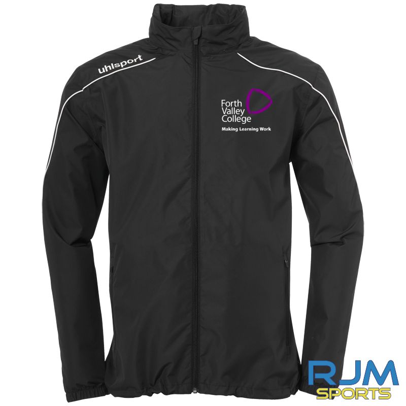 Forth Valley College Uhlsport Stream 22 Rain Jacket Black