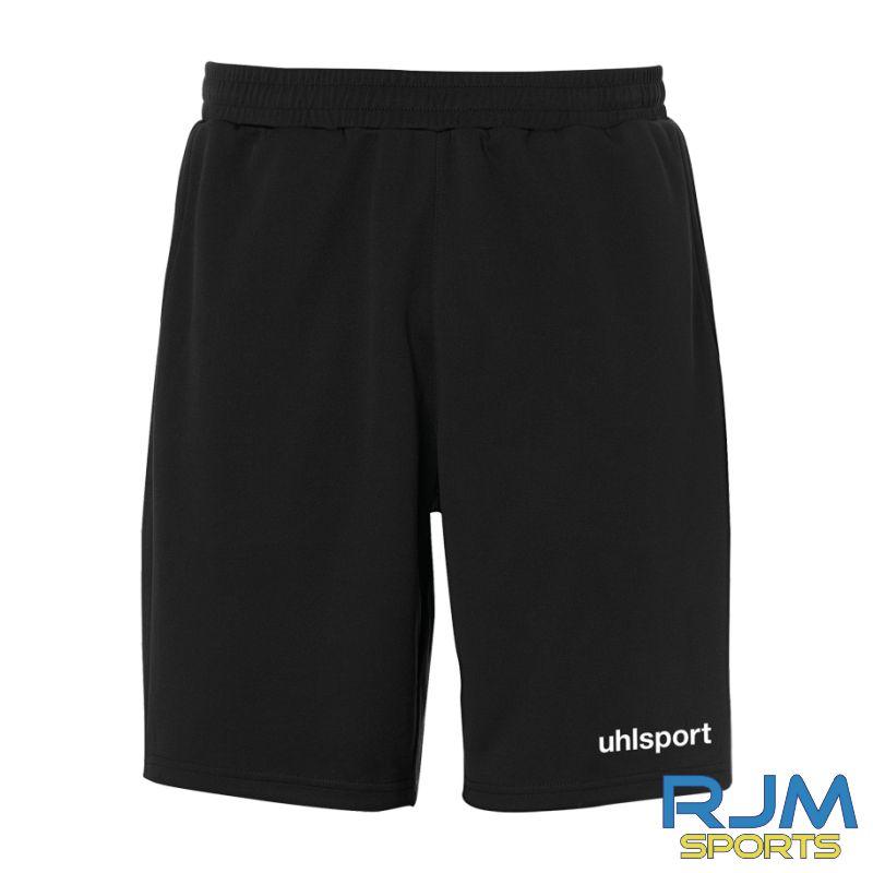Forth Valley College Uhlsport Essential PES Shorts Black
