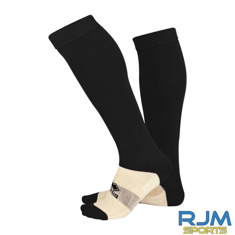 Gairdoch United Errea Polyestere Home Socks Black