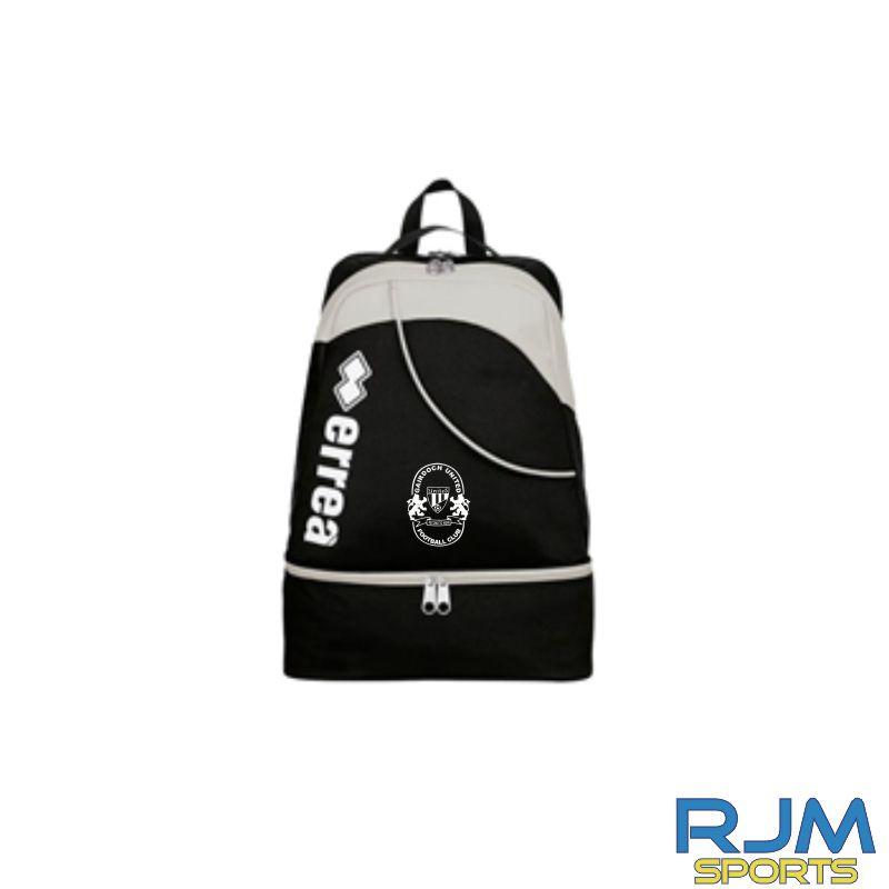 Gairdoch United Errea Lynos Adult Backpack Black/Grey