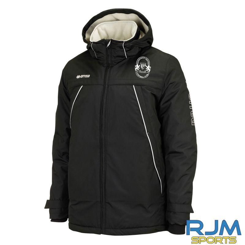 Gairdoch United Errea Iceland Jacket Black