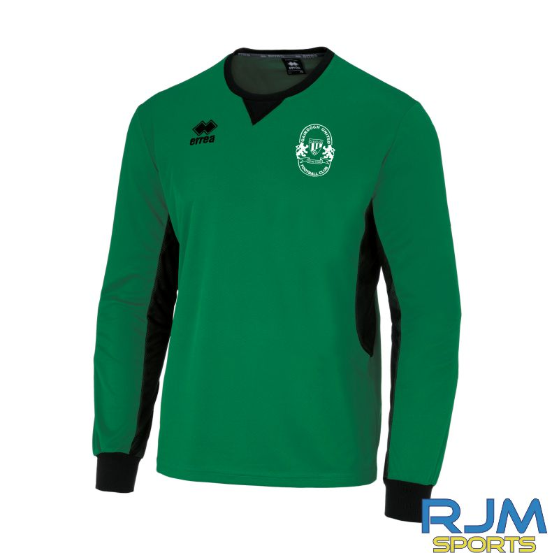 Gairdoch United Errea Simon Goalkeeper Shirt Green/Black