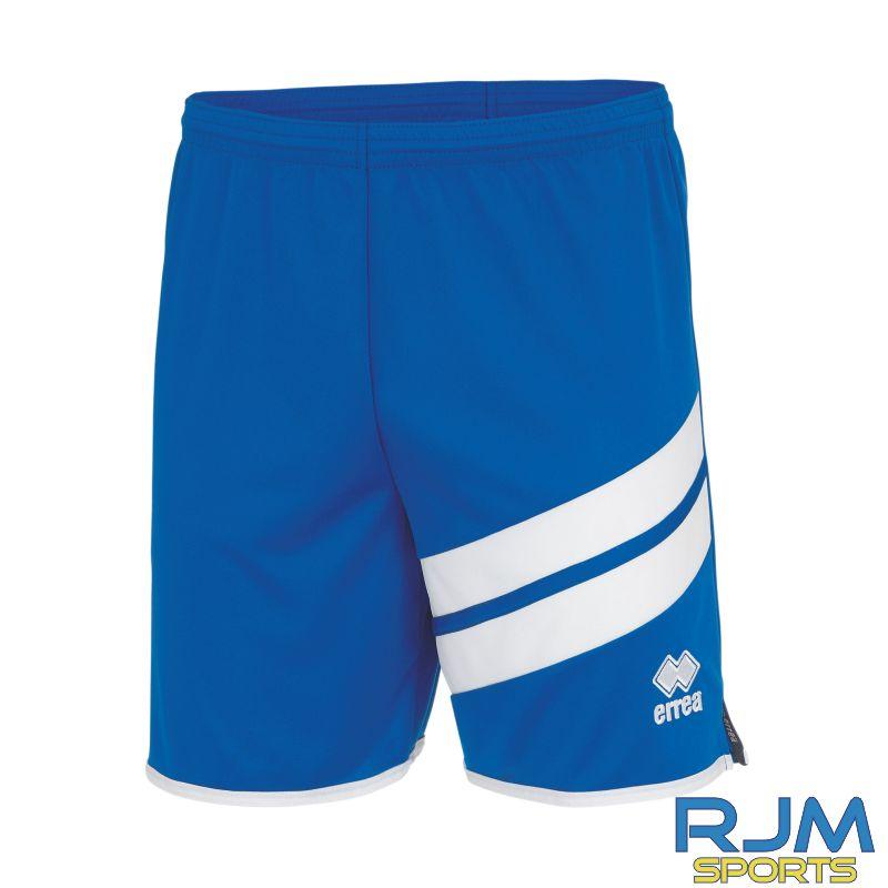 Gairdoch United Errea Jaro Away Shorts Blue