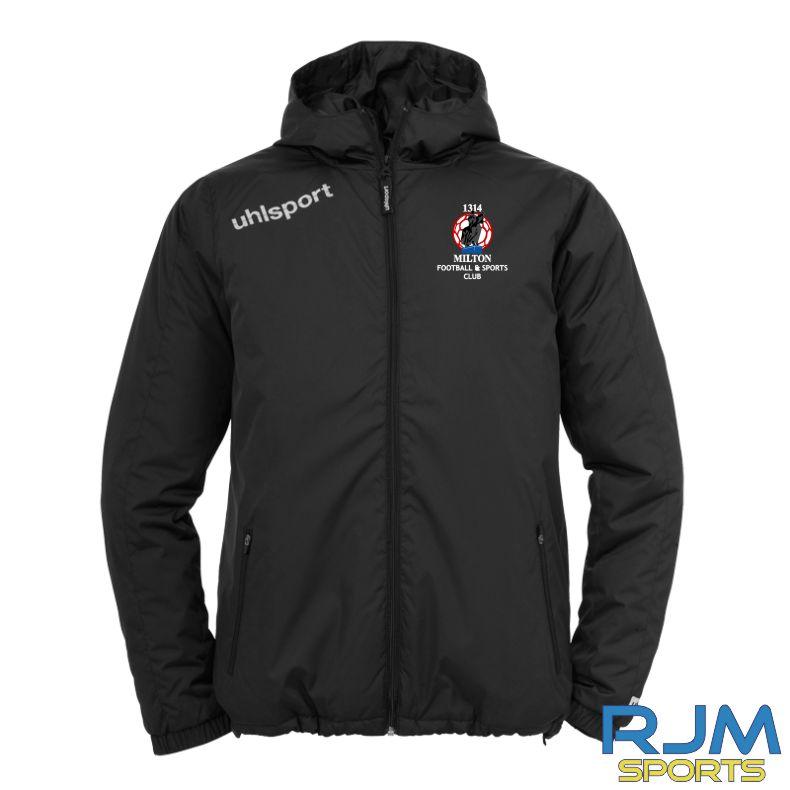 Milton FC Uhlsport Essential Team Jacket Black