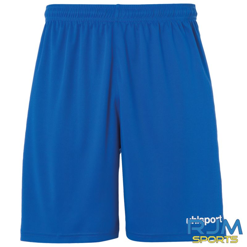 Milton FC Uhlsport Centre Basic Shorts Azure Blue/White