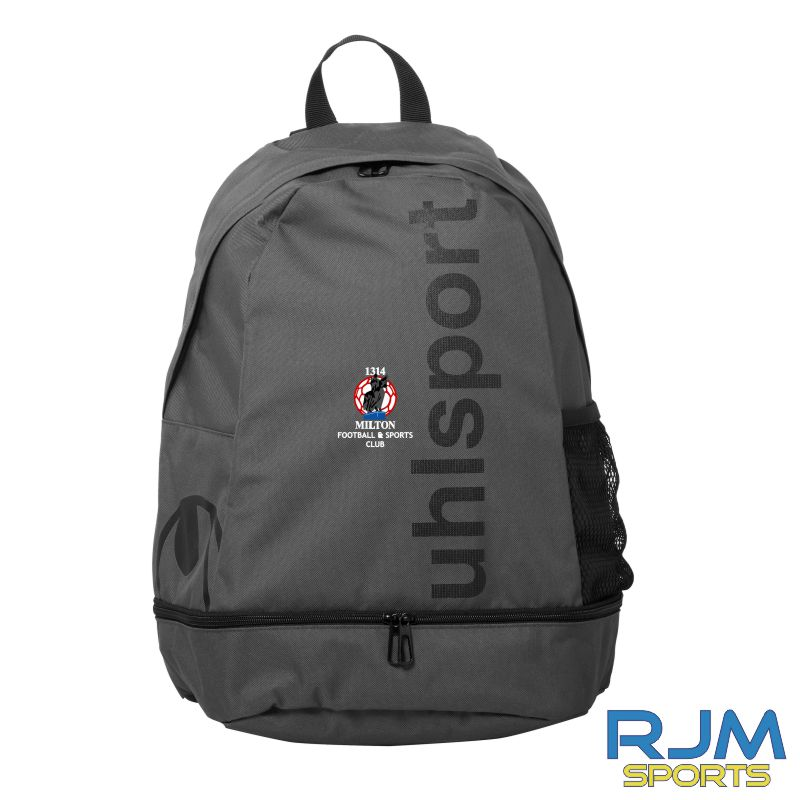 Milton FC Uhlsport Essential Backpack Anth/Black
