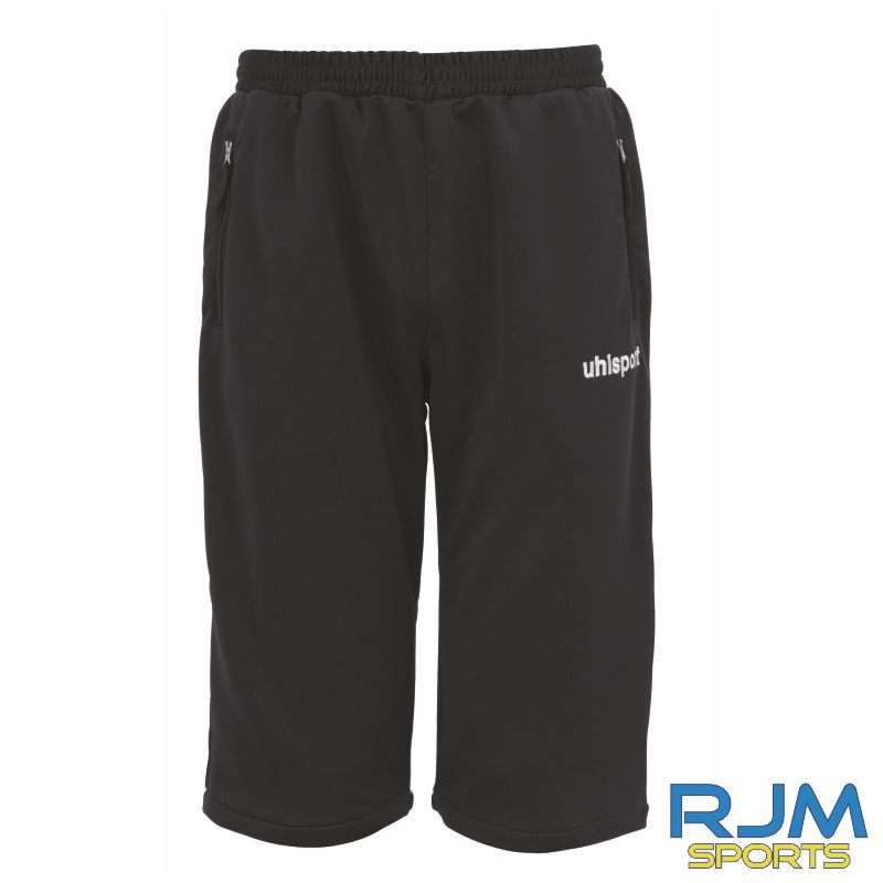 Milton FC Uhlsport Essential Coaches Long Shorts Black