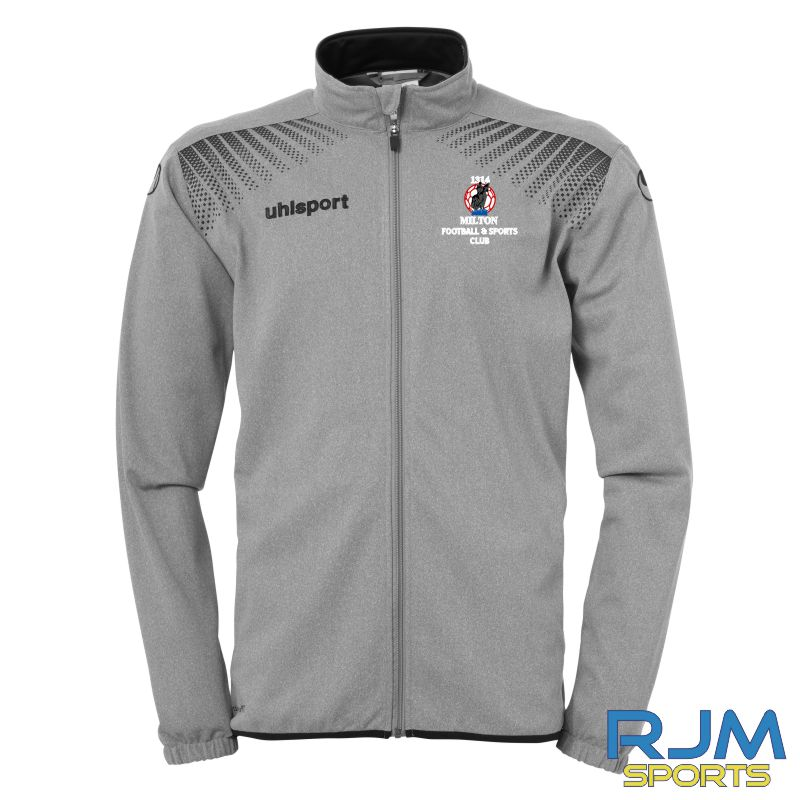 Milton FC Uhlsport Goal Coaches Classic Jacket Grey/Black