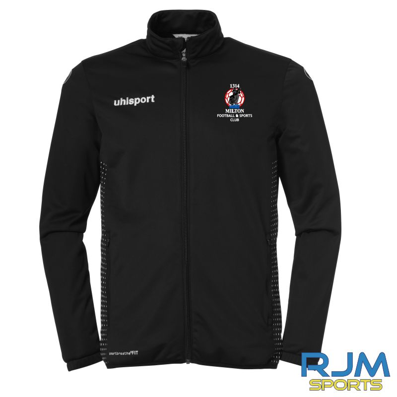 Milton FC Uhlsport Score Classic Jacket Black/White