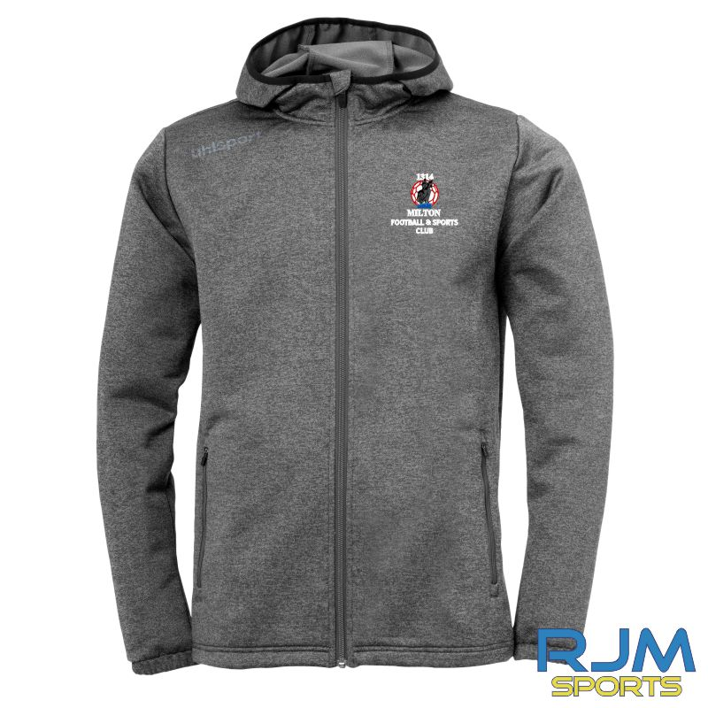 Milton FC Uhlsport Essential Fleece Jacket Grey
