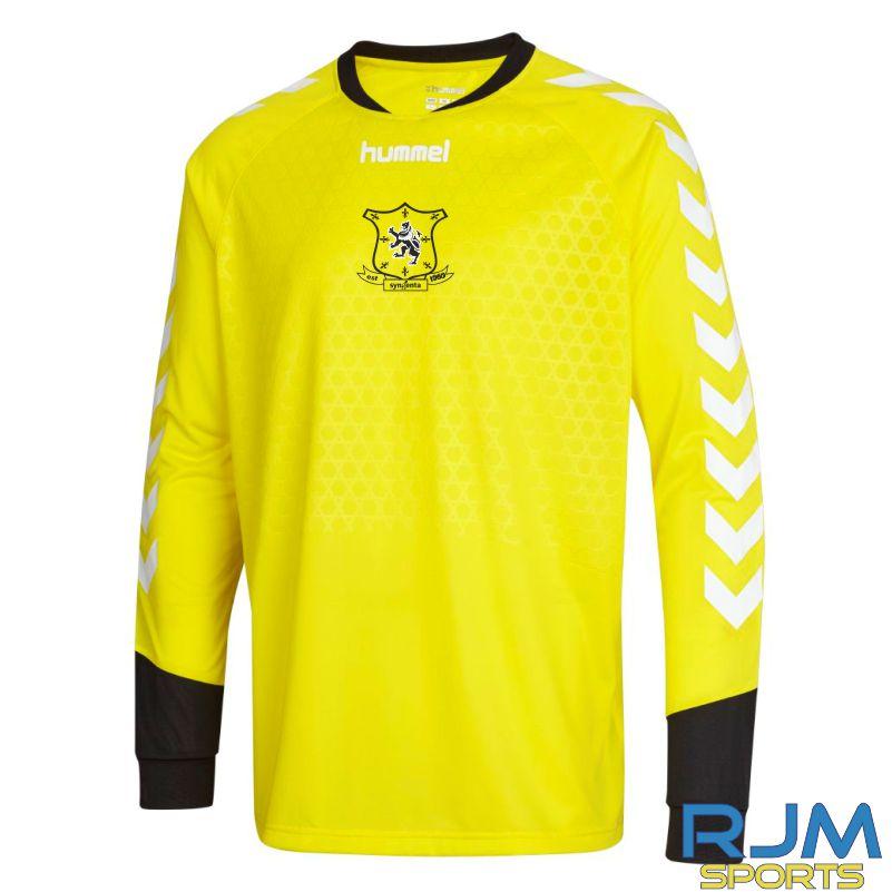 Syngenta Juveniles Hummel Essential GK Away Jersey Blazing Yellow
