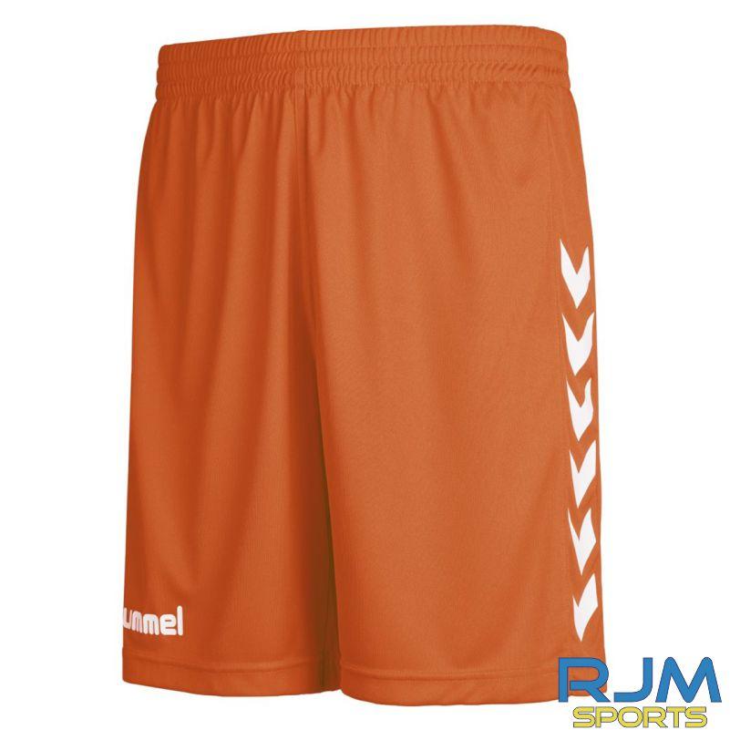 Syngenta Juveniles Hummel Core Poly Home Shorts Tangerine