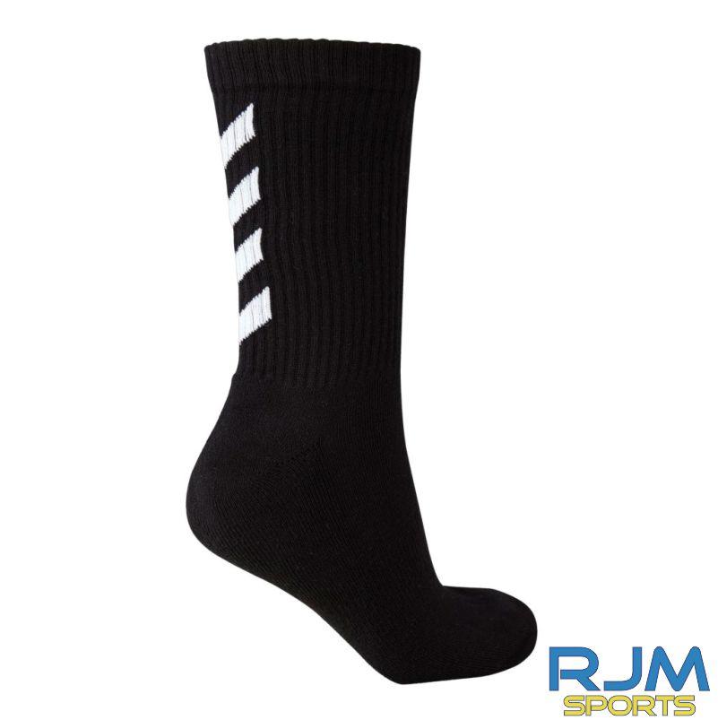 Syngenta Juveniles Hummel Fundamental 3-Pack Sock Black