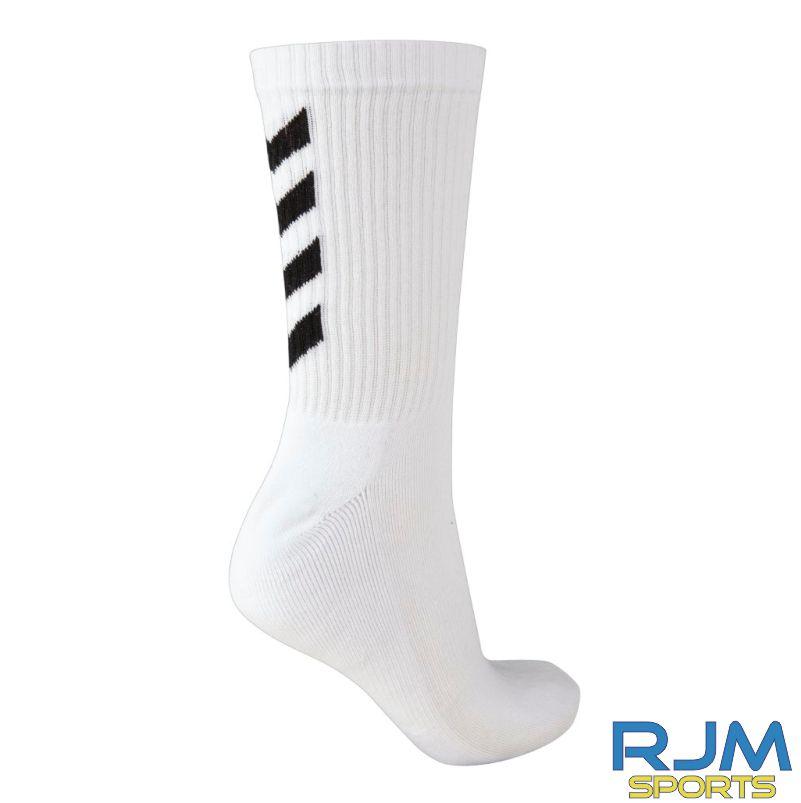 Syngenta Juveniles Hummel Fundamental 3-Pack Sock White
