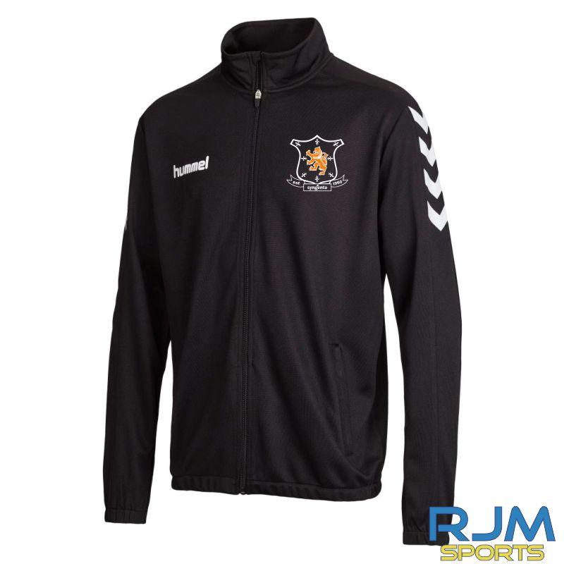 Syngenta Juveniles Hummel Core Poly Jacket Black