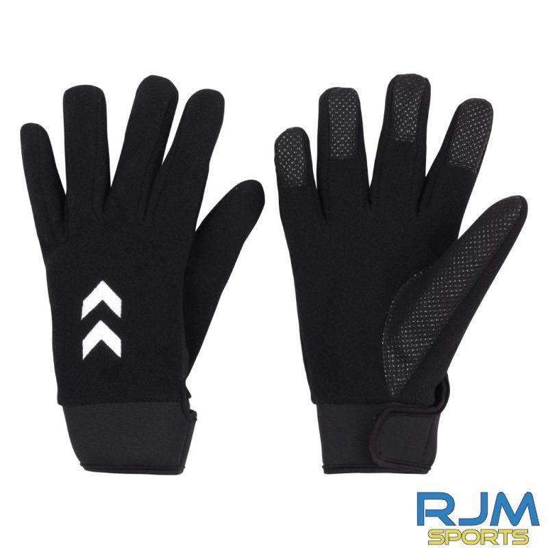 Syngenta Juveniles Hummel Cold Winter Player Gloves Black