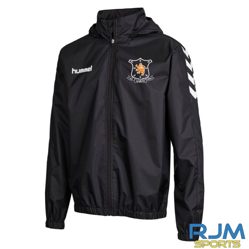 Syngenta Juveniles Hummel Core Spray Jacket Black