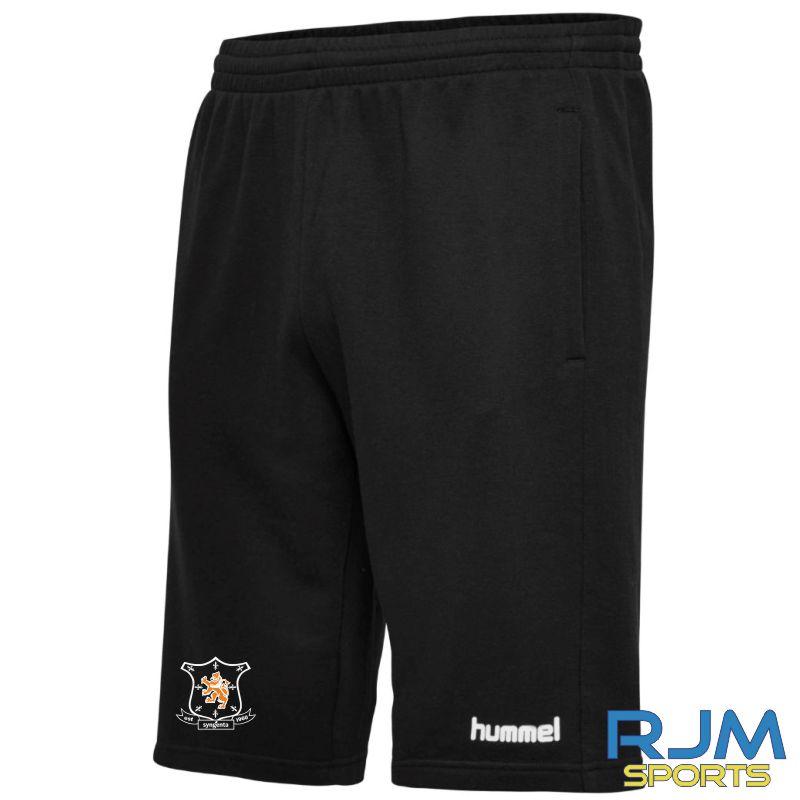 Syngenta Juveniles Hummel Go Cotton Bermuda Shorts Black