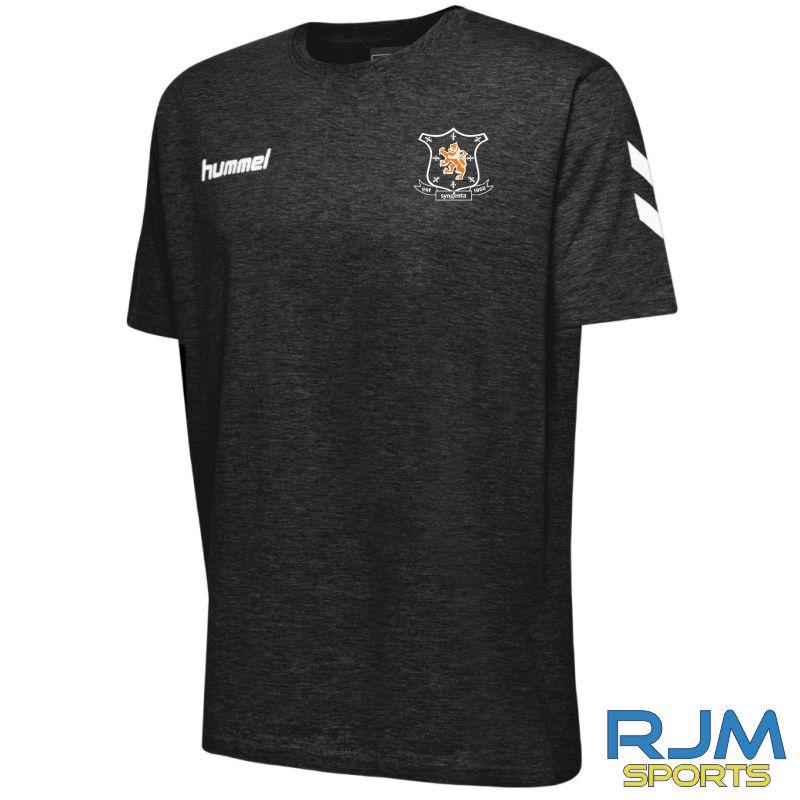 Syngenta Juveniles Hummel Go Cotton T-Shirt Black