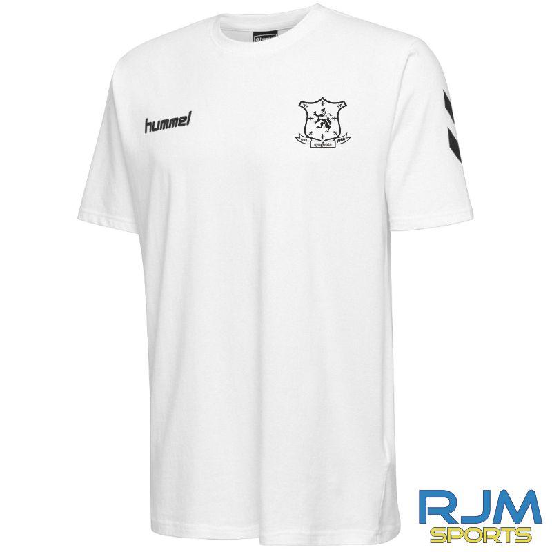 Syngenta Juveniles Hummel Go Cotton T-Shirt White