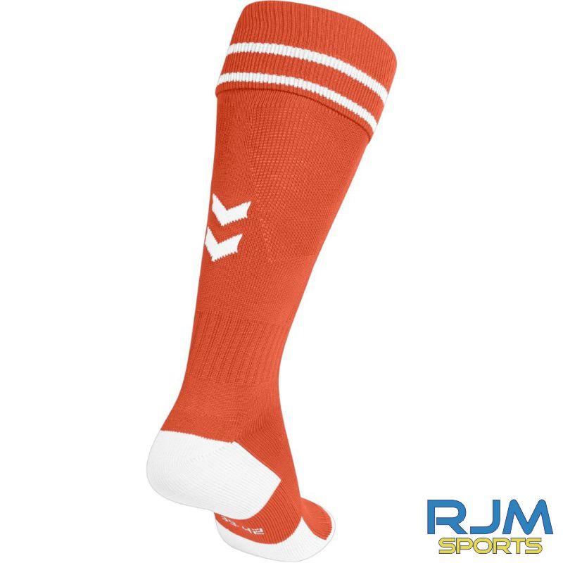 Syngenta Juveniles Hummel Element Football Home Socks Tangerine