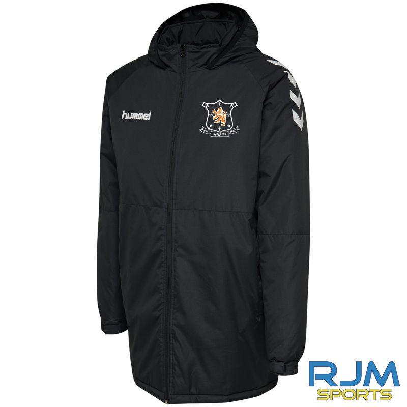 Syngenta Juveniles Hummel Core Bench Jacket Black