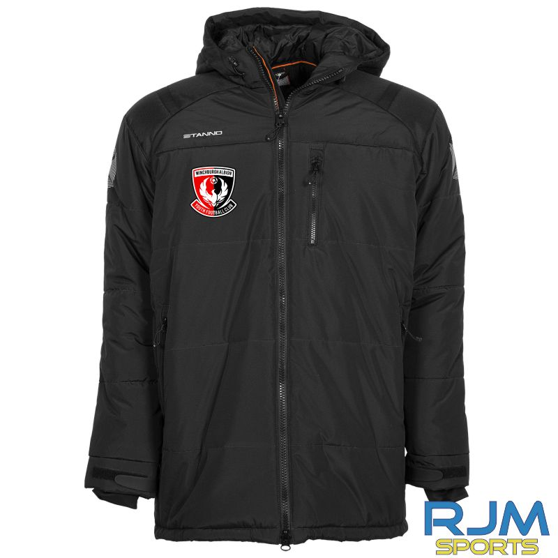 Winchburgh Albion Stanno Centro Padded Coach Jacket Black
