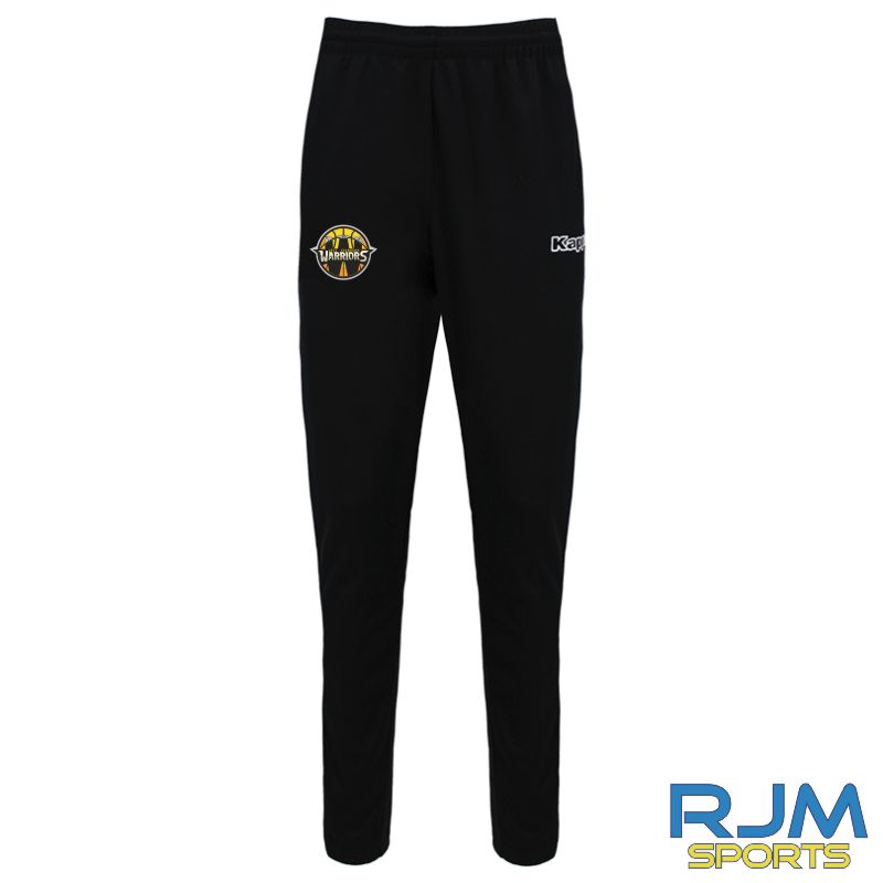 West Edinburgh Warriors Kappa Salci Pants Black