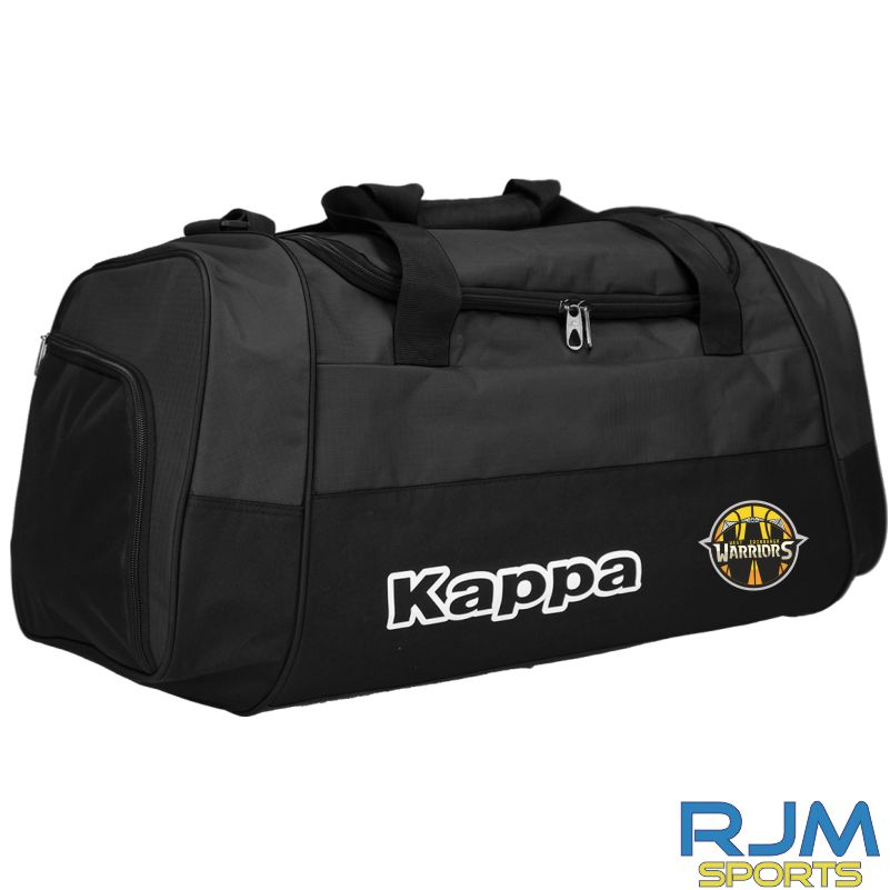 West Edinburgh Warriors Kappa Brenno Sports Bag Black