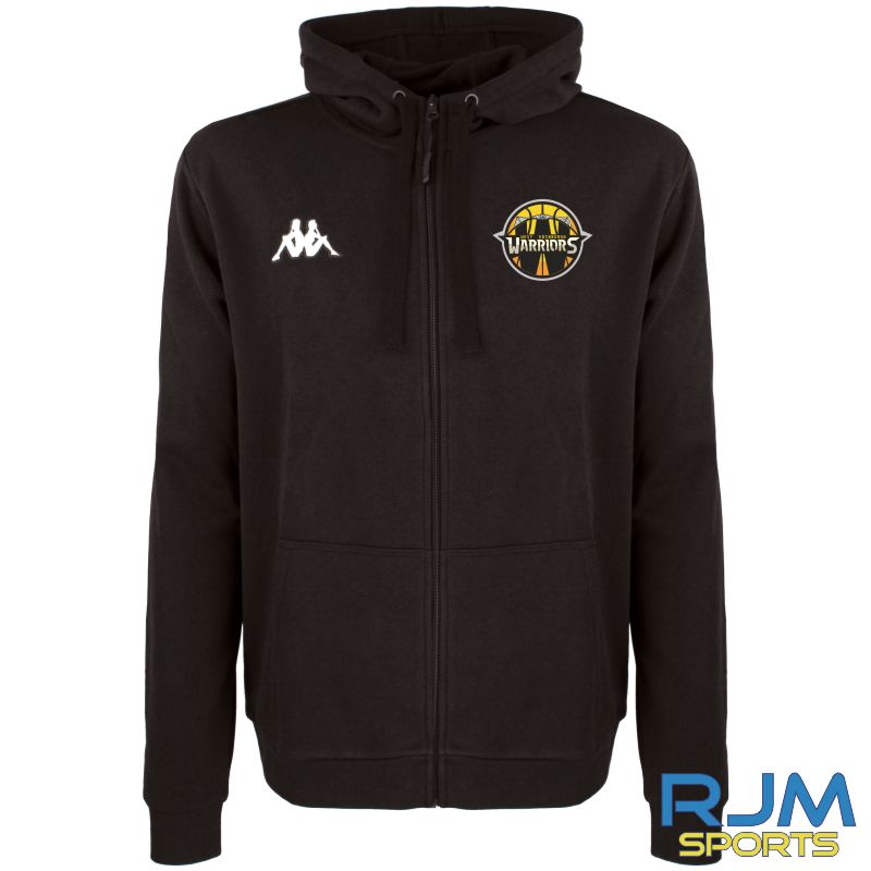 West Edinburgh Warriors Kappa Marco Hoodie Black