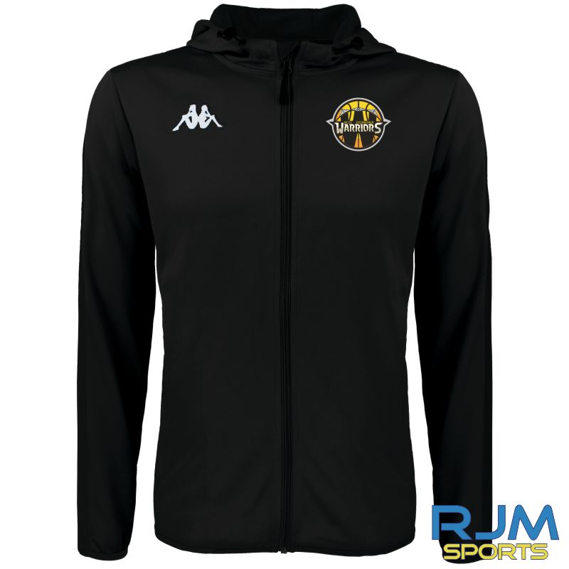 West Edinburgh Warriors Kappa Telve Jacket Black
