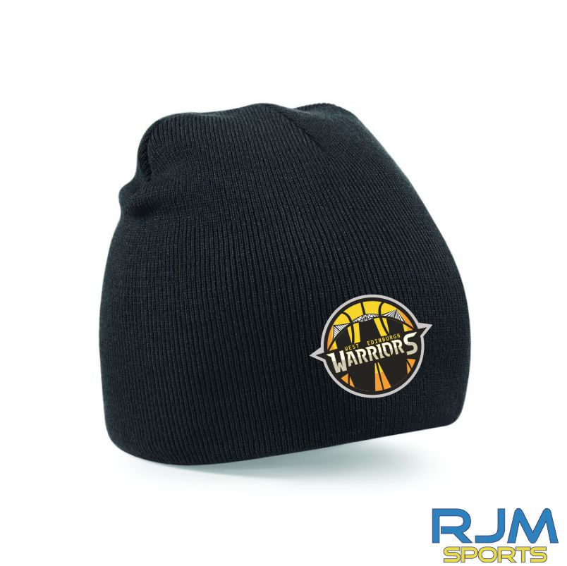 West Edinburgh Warriors Beanie Hat Black