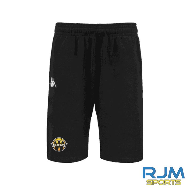 West Edinburgh Warriors Kappa Peci Shorts Black