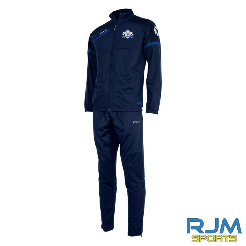 Braehead FC Stanno Prestige Polyester Tracksuit Navy/Royal