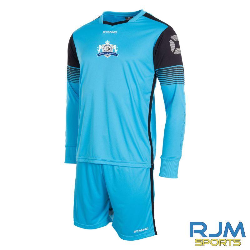 Braehead FC Stanno Nitro GK Set Blue Black