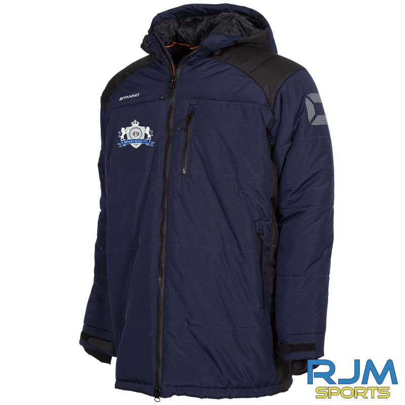 Braehead FC Stanno Centro Padded Coach Jacket Navy