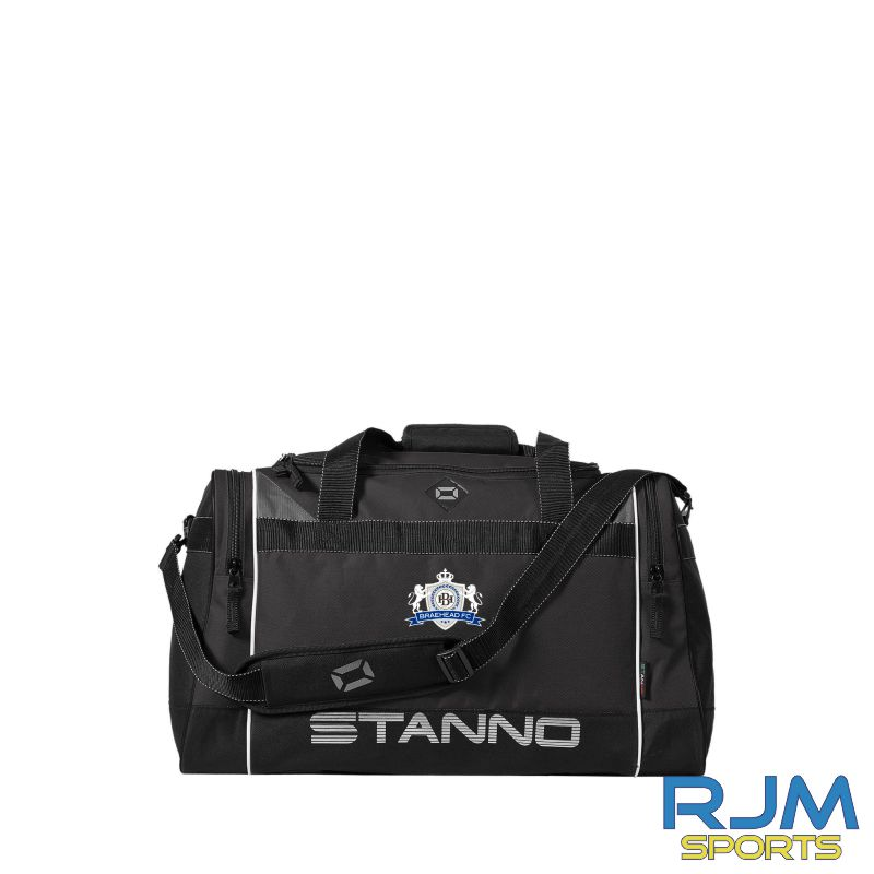 Braehead FC Stanno Murcia Excellence Sports Bag Black