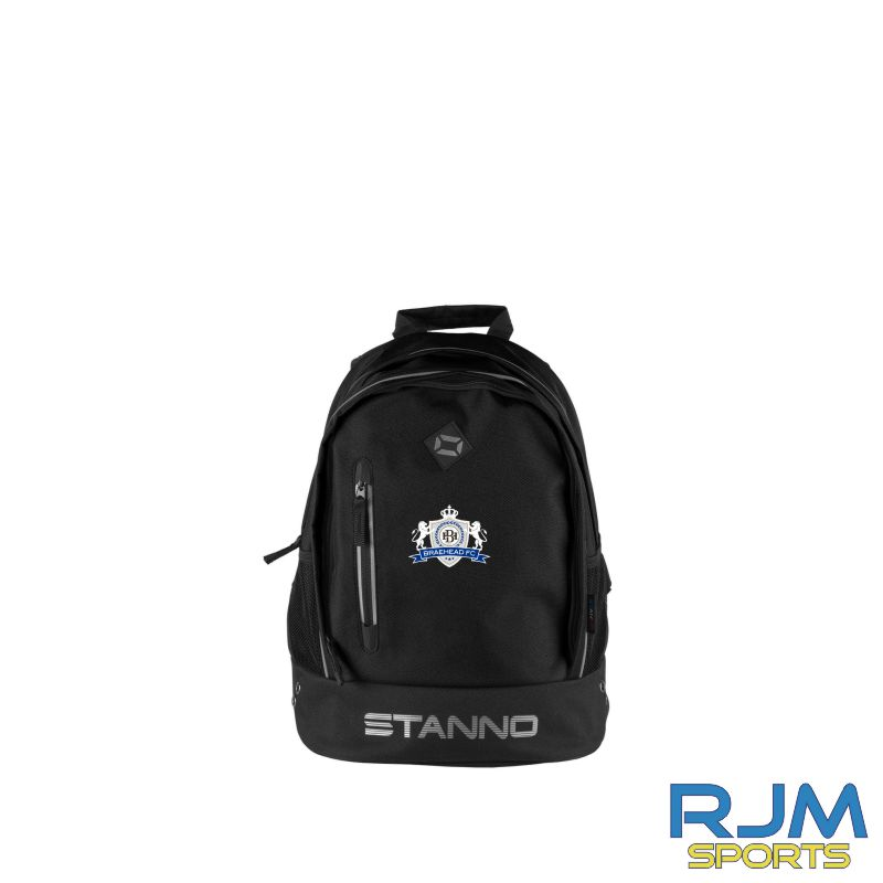 Braehead FC Stanno Backpack Black