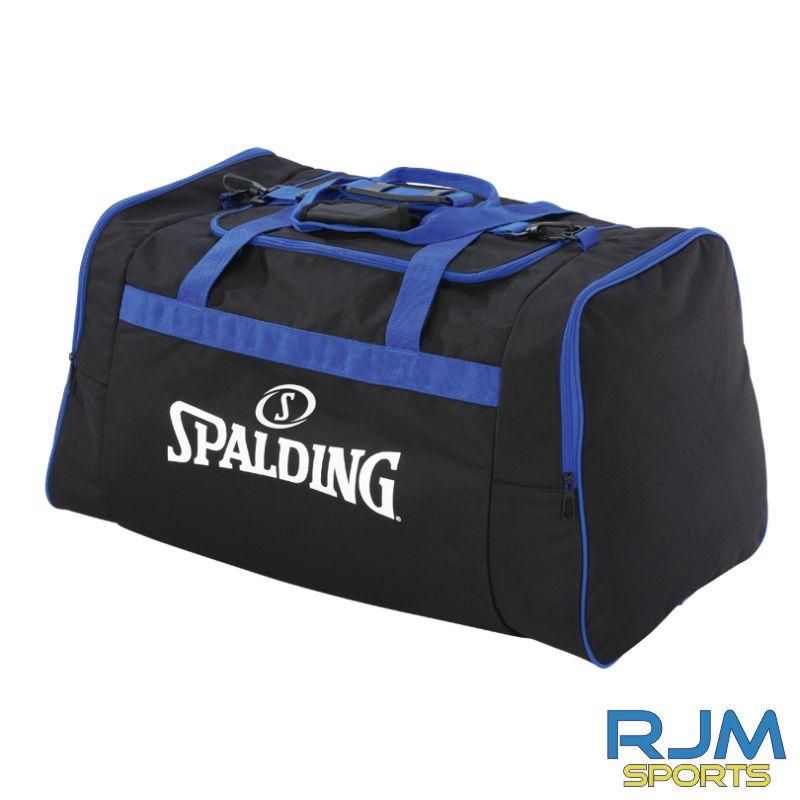 Aztecs Basketball Spalding Team Bag Medium Black Royal