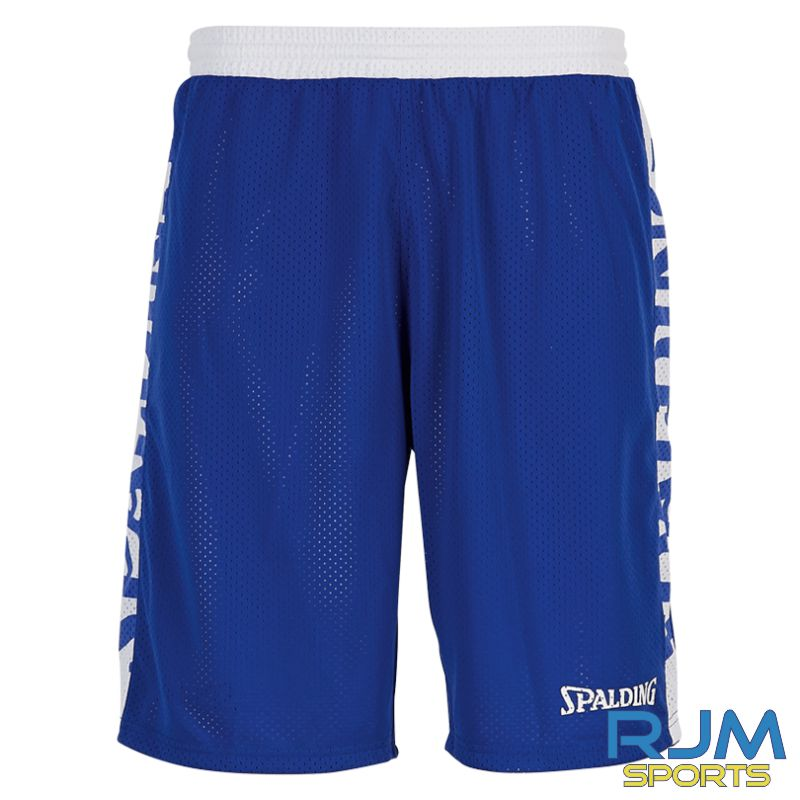 Aztecs Basketball Spalding Essential Reversible Shorts Royal White