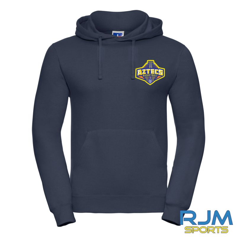 Aztecs Basketball Russell Hoodie French Navy