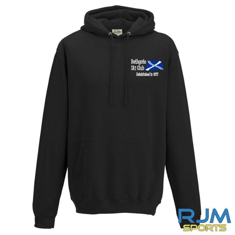 Bathgate Ski Club AWDis College Hoodie Jet Black