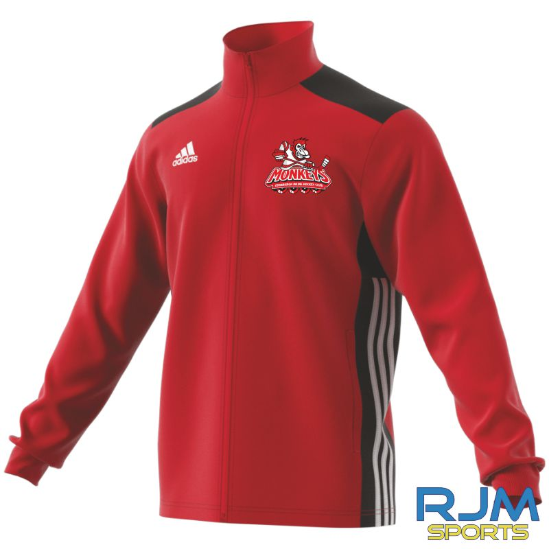 Edinburgh Monkeys Adidas Regista 18 Polyester Jacket Power Red/Black/White